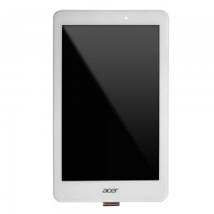 Acer Iconia Tab B1-810 - Full Front LCD Digitizer With Frame White