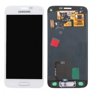 Samsung Galaxy S5 Mini G800F - Full Front LCD Digitizer White
