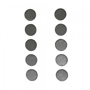 iPhone 4 / 4S / 5 / / 5C - Volume / Home  Button Metal Spacer set 10X