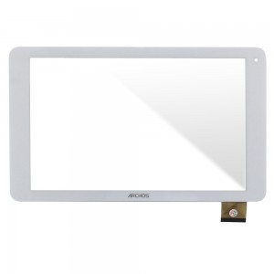Universal 10.1 inch / Archos 101c Platinum - Front Glass Digitizer White