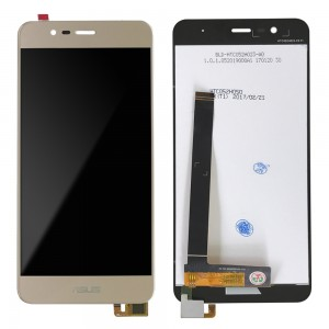 Asus Zenfone 3 Max ZC520TL - Full Front LCD Digitizer Gold