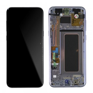 Samsung Galaxy S8 Plus G955F - Full front LCD Digitizer Violet With Frame