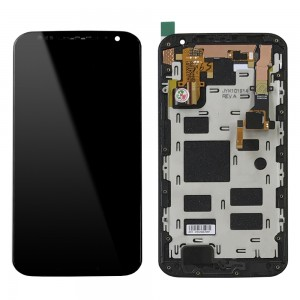Motorola Moto X 2nd Gen XT1097 - Full Front LCD Digitizer with Frame Black