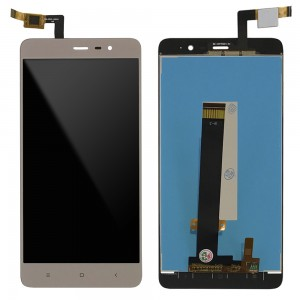 Xiaomi Redmi Note 3 Special Edition - Full Front LCD Digitizer Gold