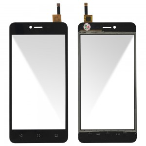 Wiko Jerry Max - Front Glass Digitizer Black