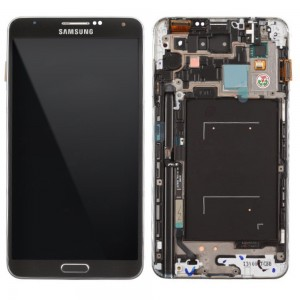 Samsung Note 3 N9000 - Full Front LCD Digitizer with Frame Black