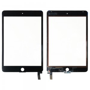 iPad Mini 4 - Front Glass Digitizer Black
