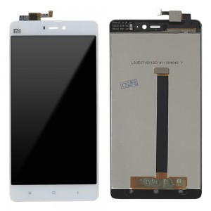 Xiaomi Mi 4S - Full Front LCD Digitizer White