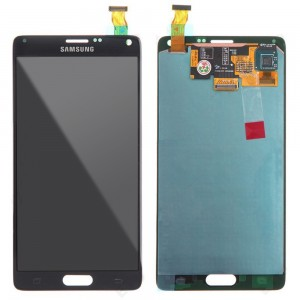 Samsung Note 4 N910F - Full Front LCD Digitizer Black
