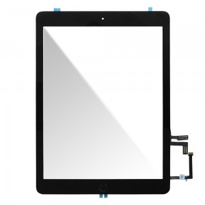 iPad Air 2017 - Front Glass Digitizer Black