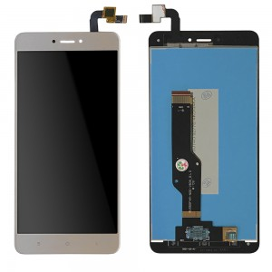 Xiaomi Redmi Note 4X - Full Front LCD Digitizer Gold Global Version