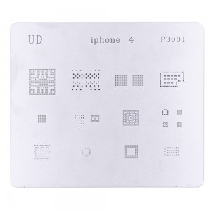 IC Repair BGA Rework Reballing Stencil Template for iPhone 4