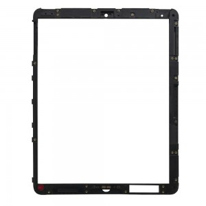 iPad 1 Wifi - Middle Frame Plastic Black with Home Button Board and Holder