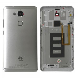 Huawei Ascend Mate 7 - Back Cover Housing Complete Silver
