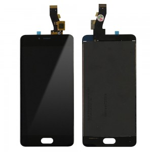 Meizu M3S - Full Front LCD Digitizer Black