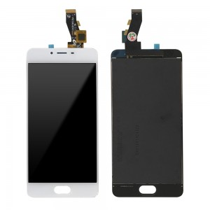 Meizu M3S - Full Front LCD Digitizer White