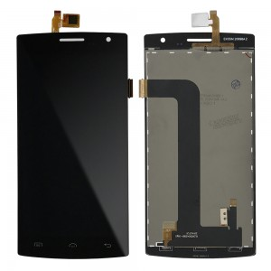 Doogee DG580 - Full Front LCD Digitizer Black