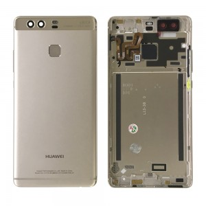Huawei Ascend P9 - Back Housing with Fingerprint Sensor Flex Gold