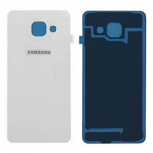 Samsung Galaxy A3 2016 A310 - Battery Cover White Class A++ with Adhesive