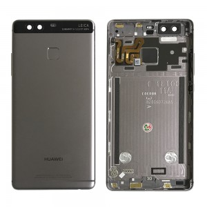 Huawei Ascend P9 - Back Housing with Fingerprint Sensor Flex Black