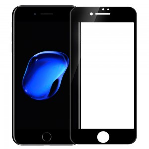 iPhone 7 Plus / 8 Plus - NillKin 3D CP+ Max Full Coverage Anti-explosion Tempered Glass Black