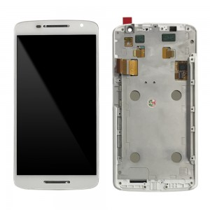 Motorola Moto X Play XT1561 XT1562 XT1563 - Full Front LCD Digitizer With Frame White