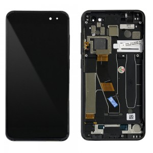 Vodafone Alcatel Smart Platinum 7 - Full Front LCD Digitizer with Frame Black