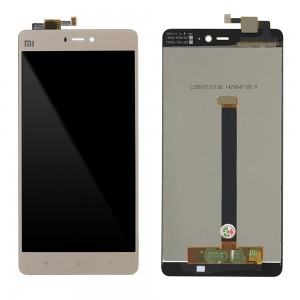 Xiaomi Mi 4S - Full Front LCD Digitizer Gold
