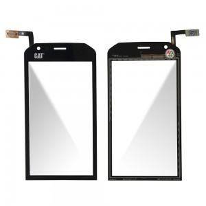 CAT S40 - Front Glass Digitizer Black