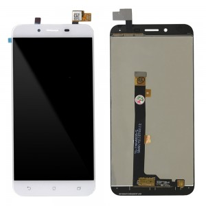 Asus Zenfone 3 MAX ZC553KL - Full Front LCD Digitizer White FPC5539-5