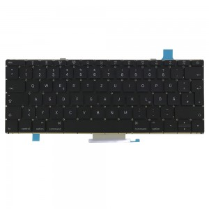 Macbook A1534 12 inch 2015 MF855 - German Keyboard DE Layout with Backlight