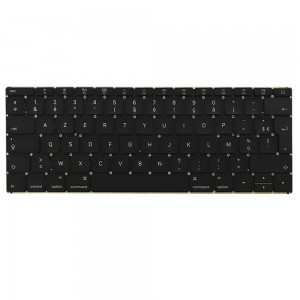Macbook A1534 12 inch 2015 MF855 - French Keyboard FR Layout with Backlight