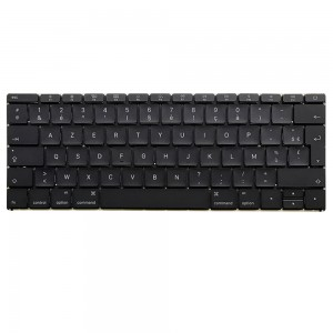 Macbook A1534 12 inch 2016 MF856 - French Keyboard FR Layout with Backlight