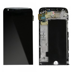 LG G5 H850 - Full Front LCD Digitizer With Frame Black