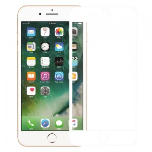 iPhone 7 Plus / 8 Plus - NillKin 3D CP+ Max Full Coverage Anti-explosion Tempered Glass White
