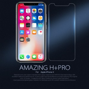 iPhone X - NillKin Tempered Glass Screen Protector Amazing H