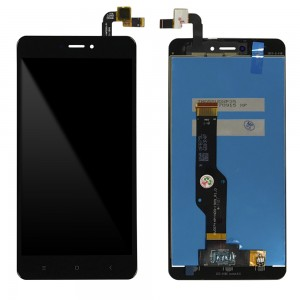 Xiaomi Redmi Note 4X - Full Front LCD Digitizer Black Snapdragon Version