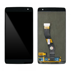 Alcatel Idol 4S 6070K - Full Front LCD Digitizer Black AMS549JG12 REV 2.1