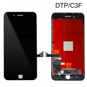 iPhone 8 Plus – LCD Digitizer (Original Remaded) Black (Comp. DTP/C3F)