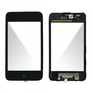 iPod Touch 3rd - Front Glass Digitizer Black