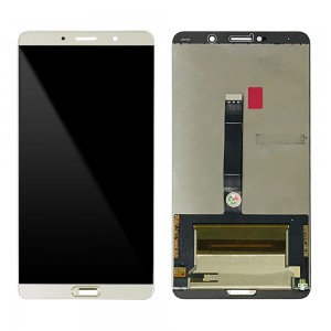 Huawei Ascend Mate 10 - Full Front LCD Digitizer Gold