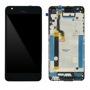 HTC Desire 825 - Full Front LCD Digitizer with Frame Black