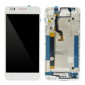 HTC Desire 825 - Full Front LCD Digitizer with Frame White