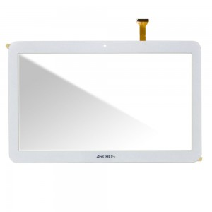 Universal 10.1 inch / Archos Access 101 3G - Front Glass Digitizer White DP101391-F1