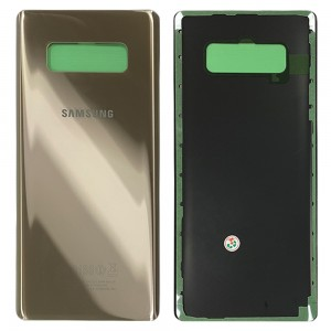 Samsung Galaxy Note 8 N950 - Battery Cover with Adhesive Gold