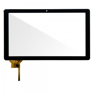 Universal 12.1 inch / Archos 121 NEON - Front Glass Digitizer Black HXD-1201A1-FPC198-V02