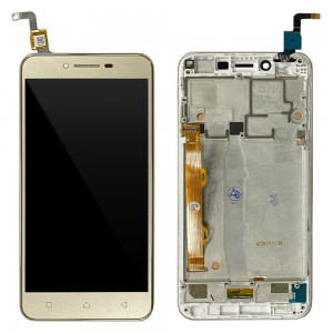 Lenovo Vibe K5 - Full Front LCD Digitizer Gold A6020a40