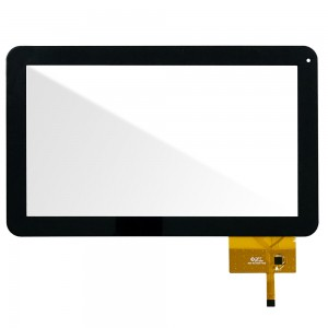 Universal 10.1 inch - Front Glass Digitizer Black 300-N3765A-C00
