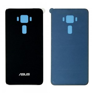 Asus Zenfone 3 ZE520KL - Battery Cover Black with Adhesive