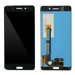Nokia 6 - Full Front LCD Digitizer Black